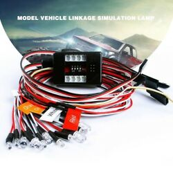 Simulation Flashing Light System 12 LED Kit For 1 10 RC Car Truck Accessories US $15.99
