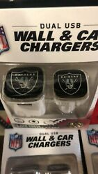 Raiders Duel USB Wall and Car Charger $14.99
