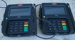 LOT OF 2 Ingenico ISC250 Touchscreen POS Payment Terminal Card Reader w Stylus $41.95