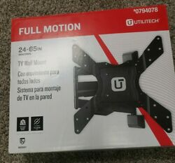Utilitech Full Motion Wall TV Mount Hardware Included $46.99