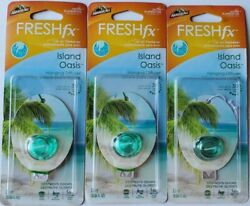 3 pcs ARMORALL® ARMORALL FRESH FX HANGING DIFFUSER AIR FRESHENER ISLAND OASIS $15.00