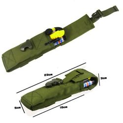 Small Flashlight Belt Bag Waterproof Pouch 100D Nylon Outdoor Camping Case Pack $10.69