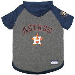 Houston Astros Pets First Hoodie T Shirt for Dog Medium $14.99