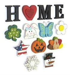 The Lakeside Collection Wooden Decorative Home Signs with Letters Pumpkin $32.40