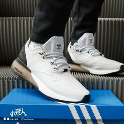🚨 Adidas ZX 2K Boost Men's Athletic Shoe Black White Running Sneaker Trainers $100.00