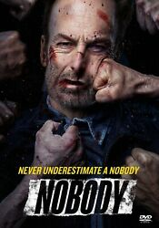 Nobody DVD 2021 Action Bob Odenkirk Brand New w Free Shipping $16.99