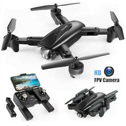 SNAPTAIN SP500 Quadcopter WIFI FPV Camera HD Foldable RC Drone used $49.99