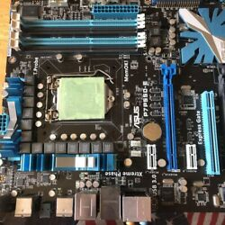 ASUS LGA1156 ATX Motherboard P7P55D E EVO main unit only junk used from Japan $217.40