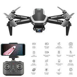 Foldable Mini for Kids Beginners RC Quadcopter with Camera Lights U3C4 $46.68