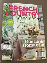 BEST OF FRENCH COUNTRY HOME amp; LIVING RUSTIC amp; ROMANTIC 2021 $8.75