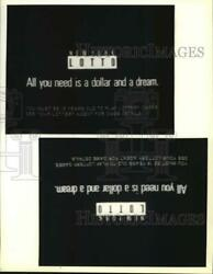 Press Photo Television Commercial for New York Lotto syp46374
