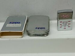 1997 ZIPPO Lighter DALE EARNHARDT 7 TIME CHAMPION HIGH POLISHED NEVER FIRED $29.50