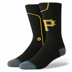 NEW Men#x27;s Pittsburgh Pirates Socks from Stance Size Large 9 13 $9.99