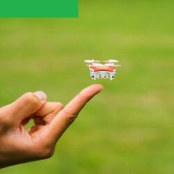 Mini Drone Small Pocket Drone Quadcopter 3D Roll Helicopter Kids Remote Control $62.99
