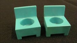 Fisher Price vintage little people hospital chairs $4.50