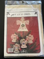 St Lucia Angel Perforated Paper Tree Topper Xmas Cross Stitch Kit Holiday Sealed $22.00