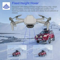 FPV WiFi Drone with Dual 4K Camera Live Video 4CH 6 Axis Gyro Foldable RC Drone $45.99