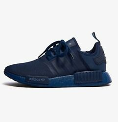 Adidas NMD R1 Boost Men's Athletic Sneaker Navy Trainers Running Shoe Training $100.00