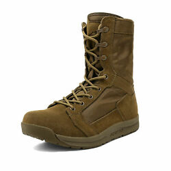 Men#x27;s Military Tactical Combat Army Boots Lightweight Outdoor Hiking Work Boots $42.29