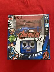 New World Tech Toys MARVEL AVENGERS CAPTAIN AMERICA 2CH MINI IR RC Helicopter $29.99