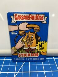 1 Topps Series 14 Garbage Pail Kids Sealed Packs Fast Free Shipping Good Cond $12.00