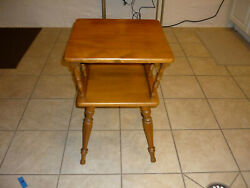 Vintage Nightstand End Table LOCAL PICKUP ONLY $30.00