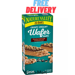 Nature Valley Peanut Butter Chocolate Wafer Bar 20 ct. Free Shipping $13.72