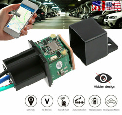 GPS GSM Car Tracker Real Time Device Security Locator Remote Control Anti Theft $23.99