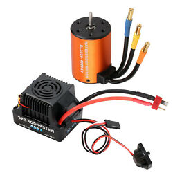 RC Brushless Motor and 60A ESC Accessory for HSP 94123 94111 94170 1 10 RC $40.81
