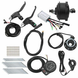 Electric Bicycle Conversion Kit with Controller KT‑900S Bike Meter 250W 36V 48V $253.49