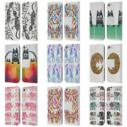 CAT COQUILLETTE ANIMALS 2 LEATHER BOOK WALLET CASE FOR APPLE iPOD TOUCH MP3 $20.95