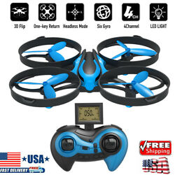 Mini RC Drone Mode 3D 360° Flips amp; Rolls 2.4G Gyro Quadcopter Altitude Hold HOT $12.99