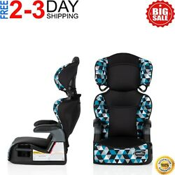 Convertible Car Seat 2 In 1 Safety Booster Toddler Boys Travel Chair Adjustable $47.99
