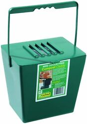Bosmere K782 Kitchen Compost Caddy small Green $13.99