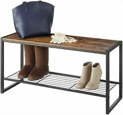 Whitmor Modern Entryway Bench One Size $77.00