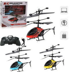 Mini RC Infrared Induction Remote Control RC Toy 2CH Gyro Helicopter RC Drone $17.81
