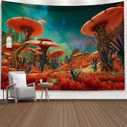 Wall Tapestry Fantasy Galaxy Space Wall Tapestry Hanging For Bedroom 51quot; x 59quot; $10.99
