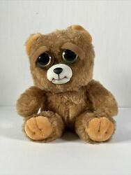 Feisty Pets Bear Sir Growls A Lot Face Changing Plush Toy Brand New with Tags $14.99