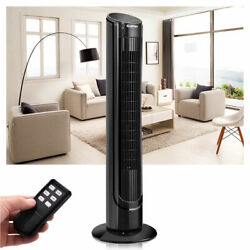 Costway 40quot; LCD Tower Fan Digital Control Oscillating Cooling Bladeless $25.99