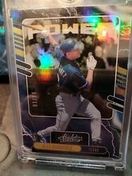 2021 Alex Rodriguez Absolute Baseball Power gold stamped #01 10 $75.00