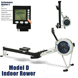 NEW Model D Indoor Rowing Machine 12 Resistance Level w PM5 Performance Monitor $569.95