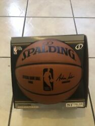 Official NBA Spalding Basketball Ball Game Indoor Authentic Leather 29.5 $199.00