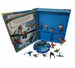 HOW TO TRAIN YOUR DRAGON 2 My Busy Book 12 Figurines NO PLAYMAT READ $8.95