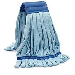 Commercial Mop Head Replacement Large Microfiber Tube Mop 18 oz. $24.59