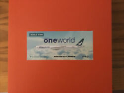 Cathay Pacific 777 JC Wings 1:400 BKQI One World Livery $70.00