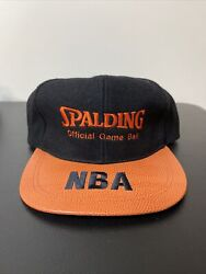 Spalding Official Game Ball Strapback Hat Deadstock New Without Tags New VTG 90s $29.99