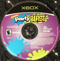 Nickelodeon Party Blast Microsoft Xbox 2002 disc only tested $5.00