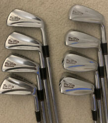 SPALDING PRO FLITE REGISTERED BLADE GOLF IRONS 3 to PW $59.00
