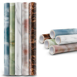 9.8ft Marble Contact Paper Self Adhesive Peel Stick Wallpaper Kitchen Countertop $13.95