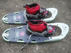 Frontier 25 Tubbs Snowshoes With Red Snow Shoes Size 10 B Womens $89.99